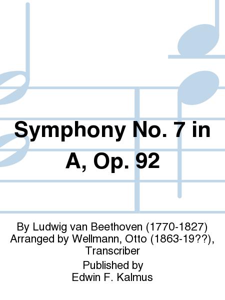 Symphony No. 7 in A, Op. 92
