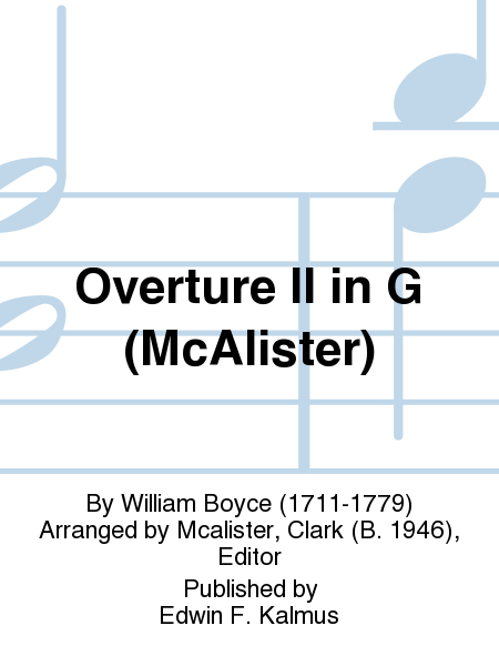 Overture II in G (McAlister)