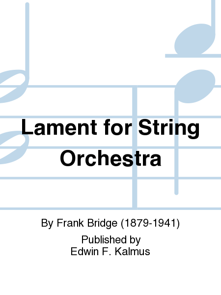 Lament for String Orchestra
