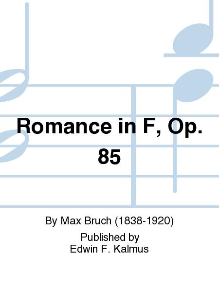 Romance in F, Op. 85