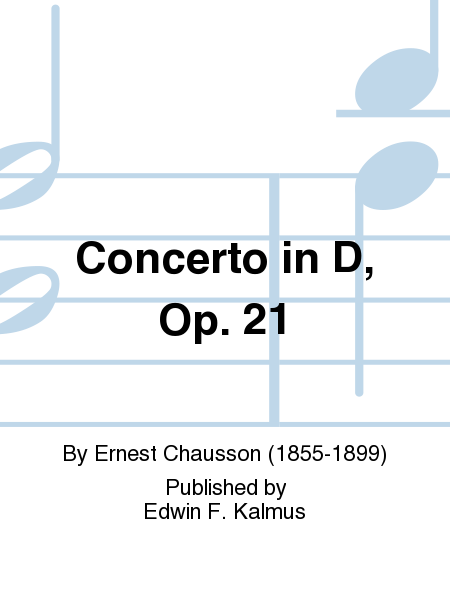 Concerto in D, Op. 21