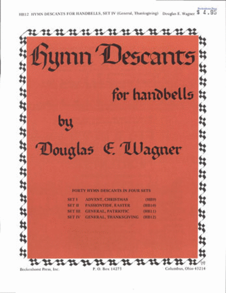 Hymn Descants for Handbells Set IV