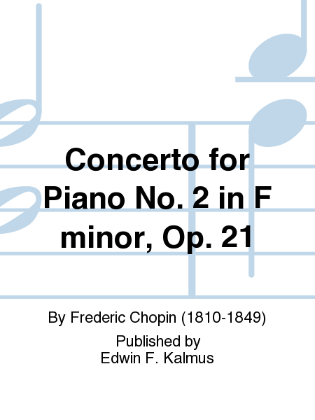 Concerto for Piano No. 2 in F minor, Op. 21