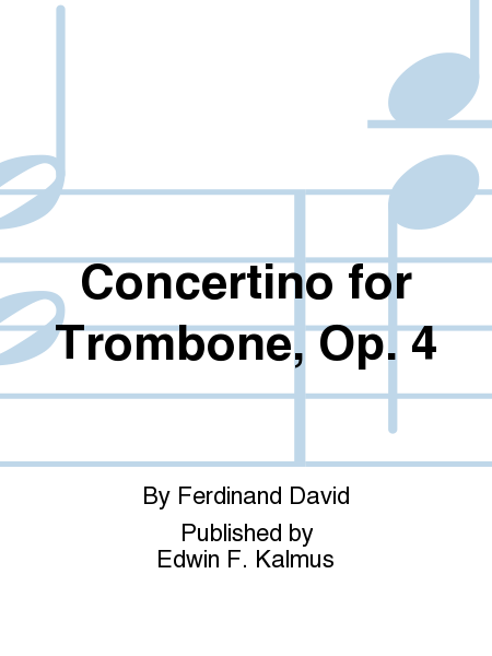 Concertino for Trombone, Op. 4