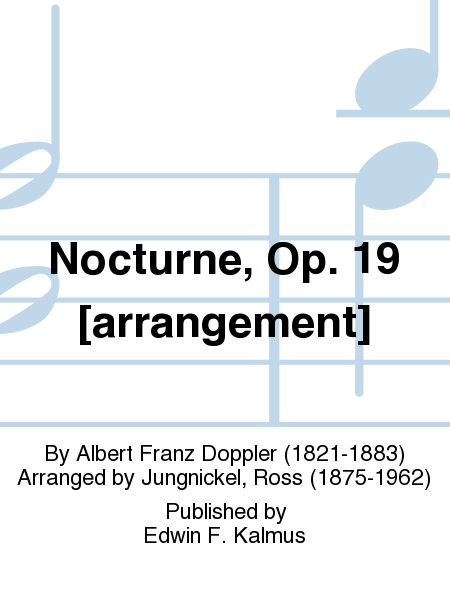 Nocturne, Op. 19 [arrangement]