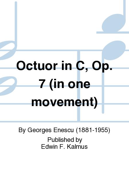 Octuor in C, Op. 7 (in one movement)