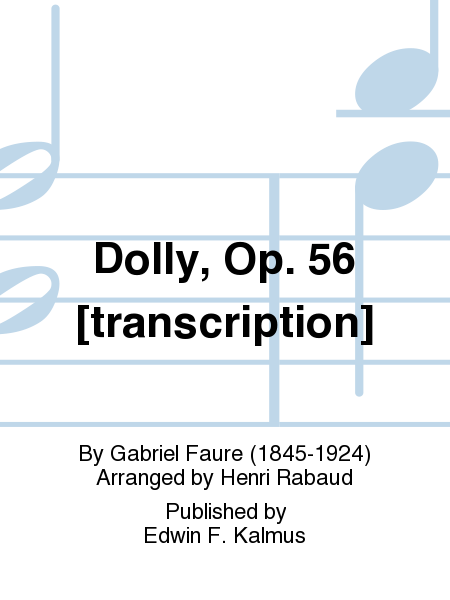 Dolly, Op. 56 [transcription]