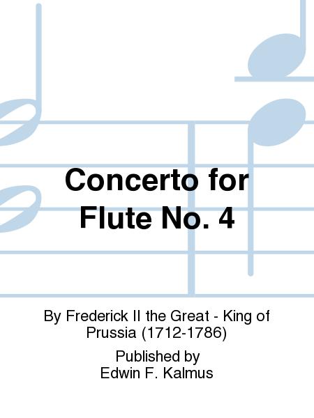 Concerto for Flute No. 4