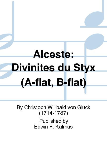 Alceste: Divinites du Styx (A-flat, B-flat)