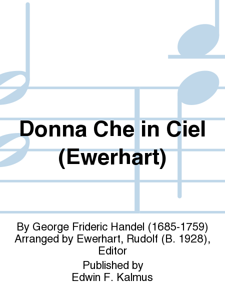 Donna Che in Ciel (Ewerhart)
