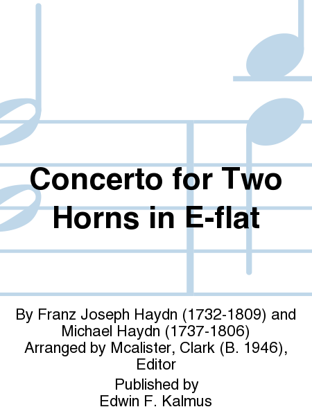 Concerto for Two Horns in E-flat