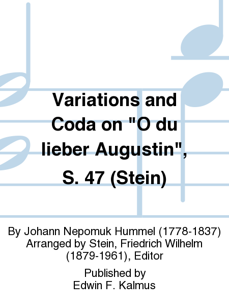 Variations and Coda on