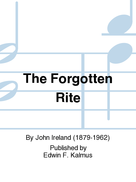 The Forgotten Rite