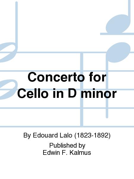 Concerto for Cello in D minor