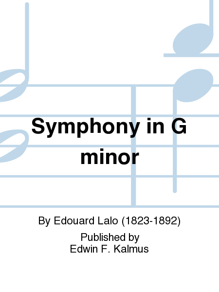 Symphony in G minor