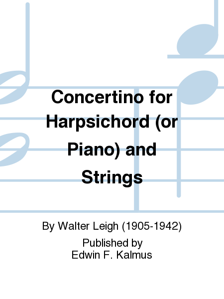 Concertino for Harpsichord (or Piano) and Strings