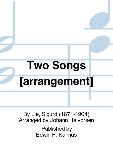 Two Songs [arrangement]