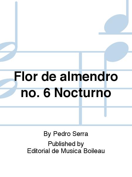 Flor de almendro no. 6 Nocturno