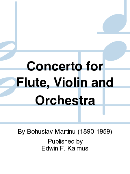 Concerto for Flute, Violin and Orchestra