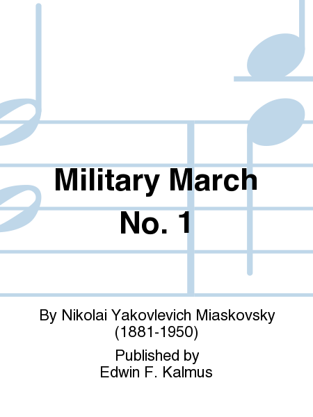 Military March No. 1