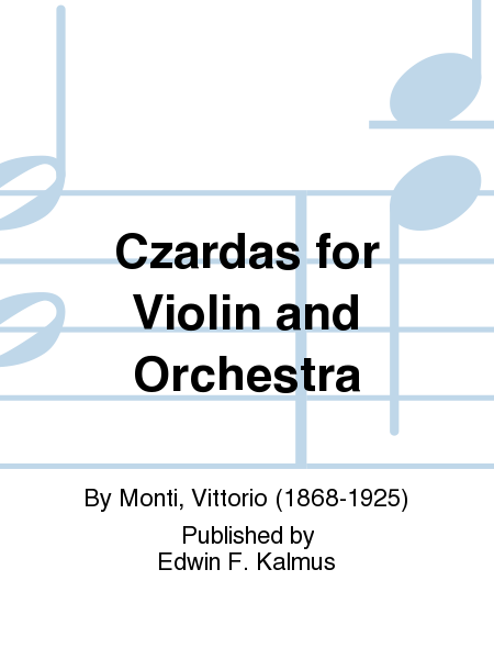 Czardas for Violin and Orchestra
