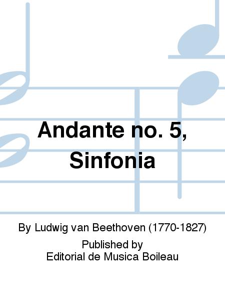 Andante no. 5, Sinfonia