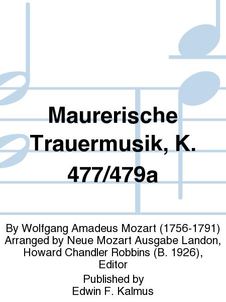Maurerische Trauermusik, K. 477/479a
