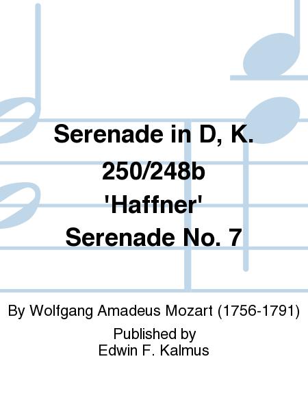 Serenade in D, K. 250/248b 'Haffner' Serenade No. 7