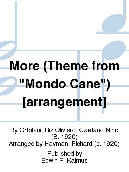 More (Theme from