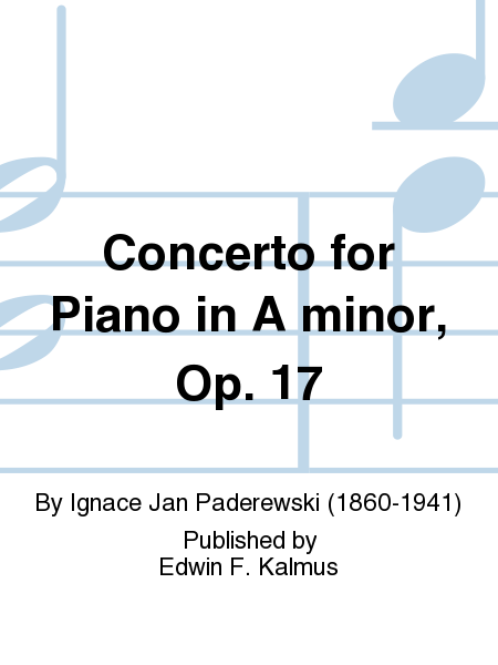 Concerto for Piano in A minor, Op. 17