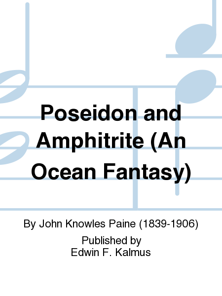 Poseidon and Amphitrite (An Ocean Fantasy)