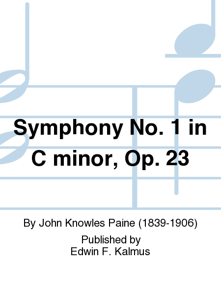 Symphony No. 1 in C minor, Op. 23