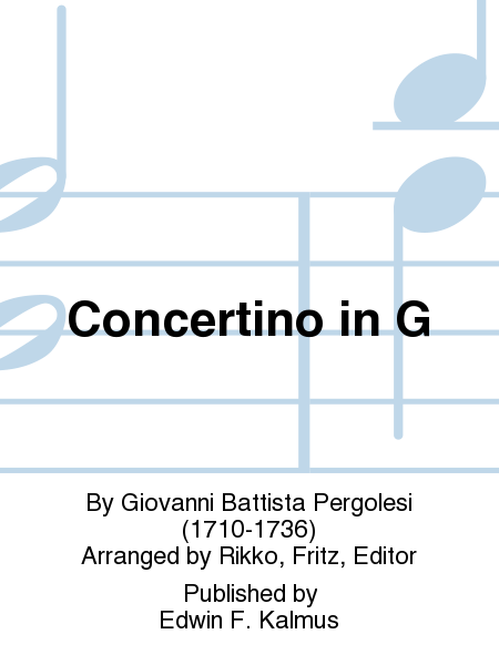 Concertino in G