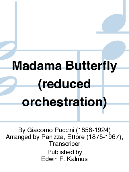 Madama Butterfly (reduced orchestration)