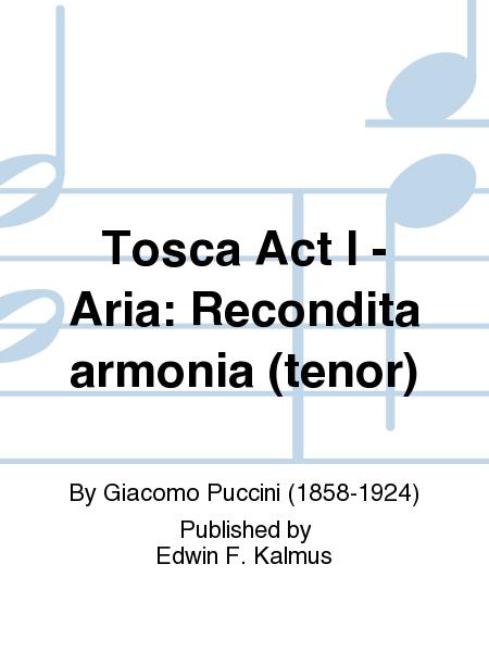 Tosca Act I - Aria: Recondita armonia (tenor)