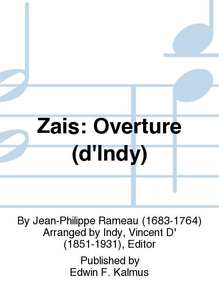 Zais: Overture (d'Indy)