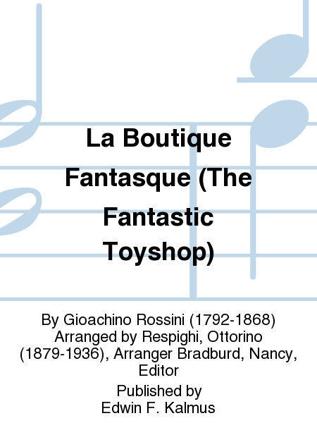 La Boutique Fantasque (The Fantastic Toyshop)