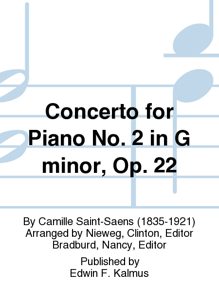 Concerto for Piano No. 2 in G minor, Op. 22