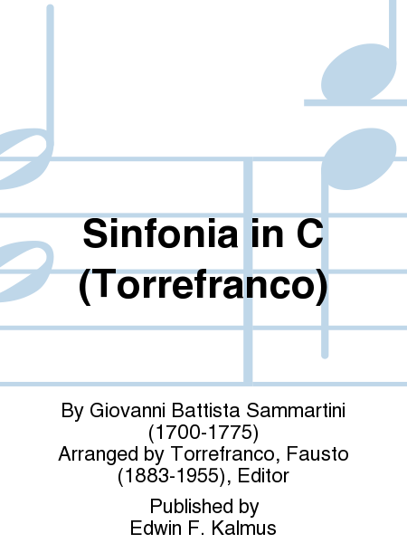 Sinfonia in C (Torrefranco)