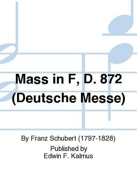 Mass in F, D. 872 (Deutsche Messe)