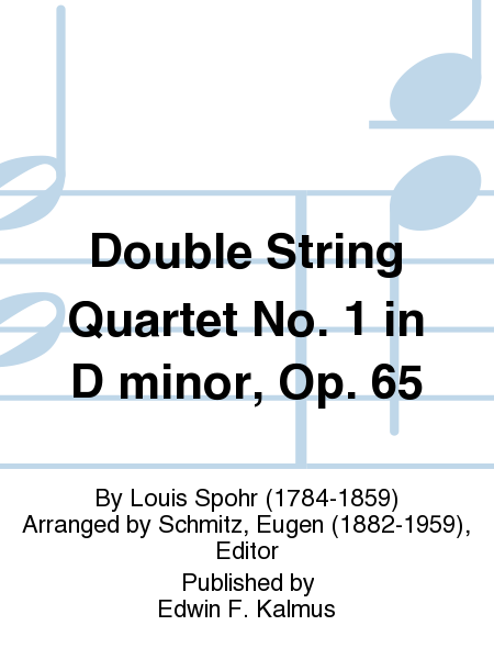 Double String Quartet No. 1 in D minor, Op. 65