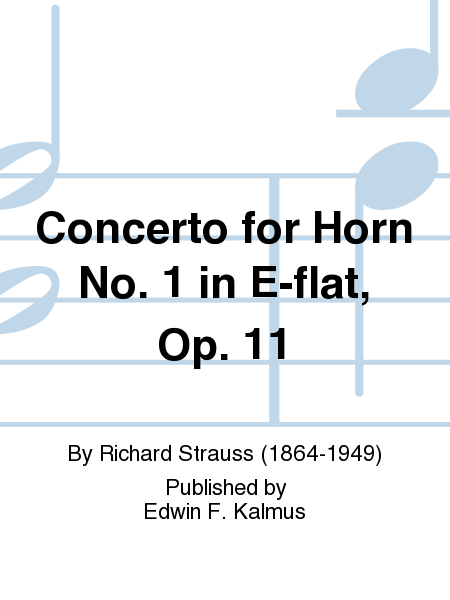 Concerto for Horn No. 1 in E-flat, Op. 11