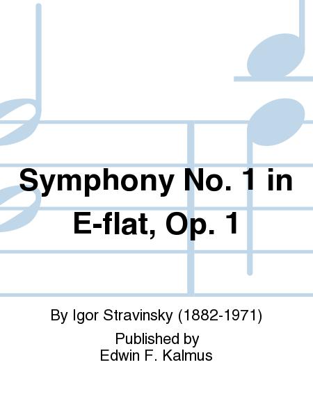 Symphony No. 1 in E-flat, Op. 1