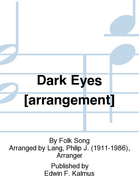 Dark Eyes [arrangement]