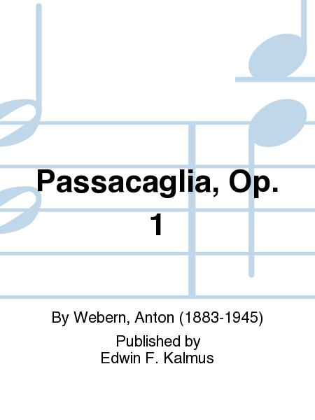 Passacaglia, Op. 1