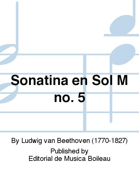 Sonatina en Sol M no. 5