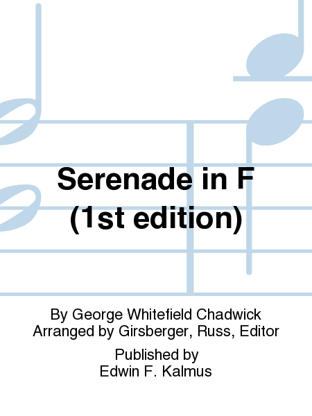 Serenade in F (1st edition)