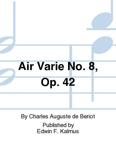 Air Varie No. 8, Op. 42