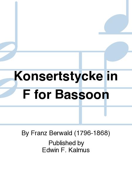 Konsertstycke in F for Bassoon