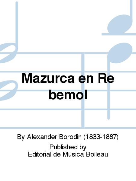 Mazurca en Re bemol